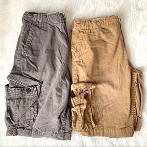 Men's Bundle of 2 Cargo Shorts
